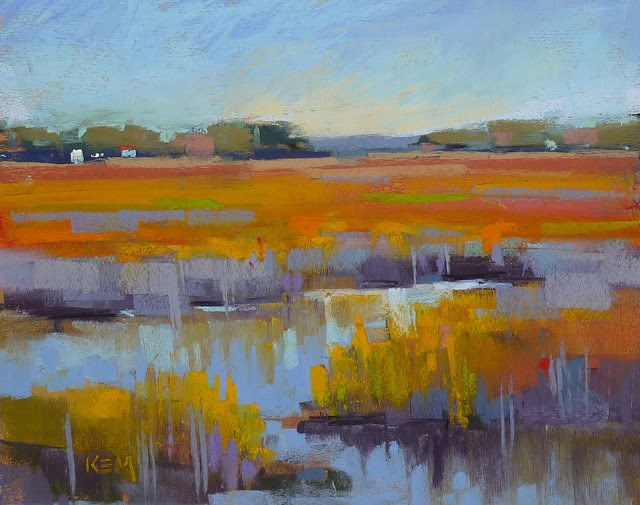 """A Good Tip For Naming a Painting"" original fine art by Karen Margulis"