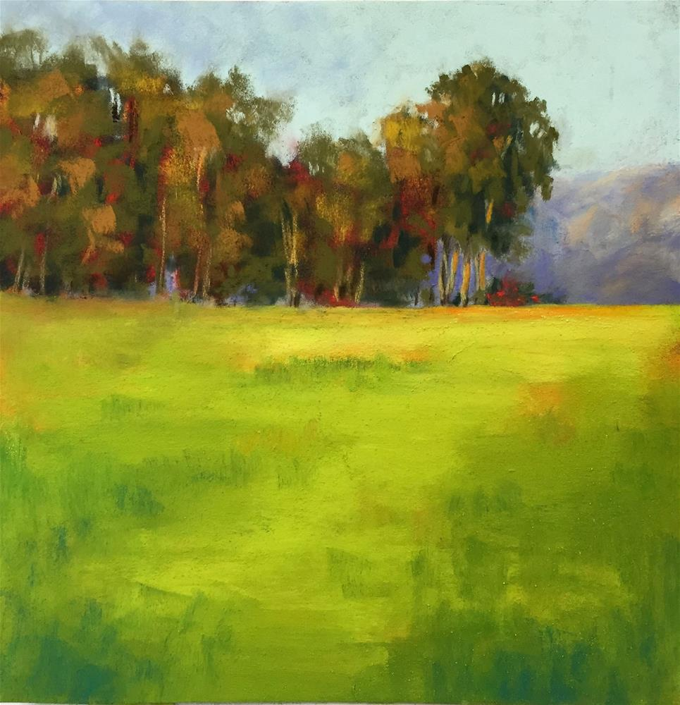 """The Meadow"" original fine art by Sherri Cassell"