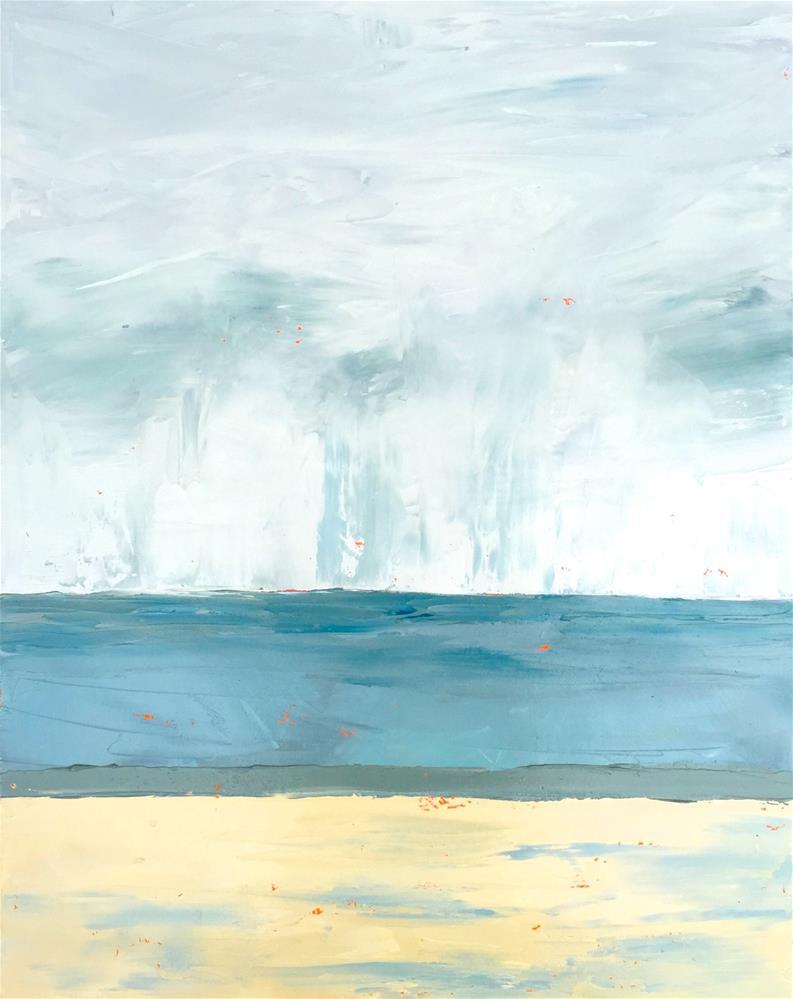 """""""Peaceful Day"""" original fine art by Janet Bludau"""