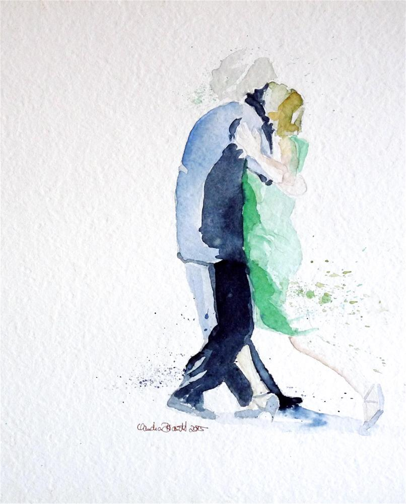 """the dance"" original fine art by Claudia Brandt"