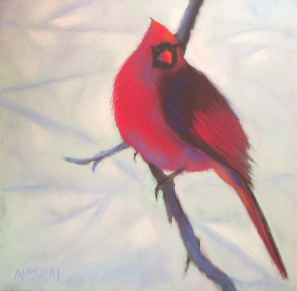 """Winterlong"" original fine art by Judy Albright"