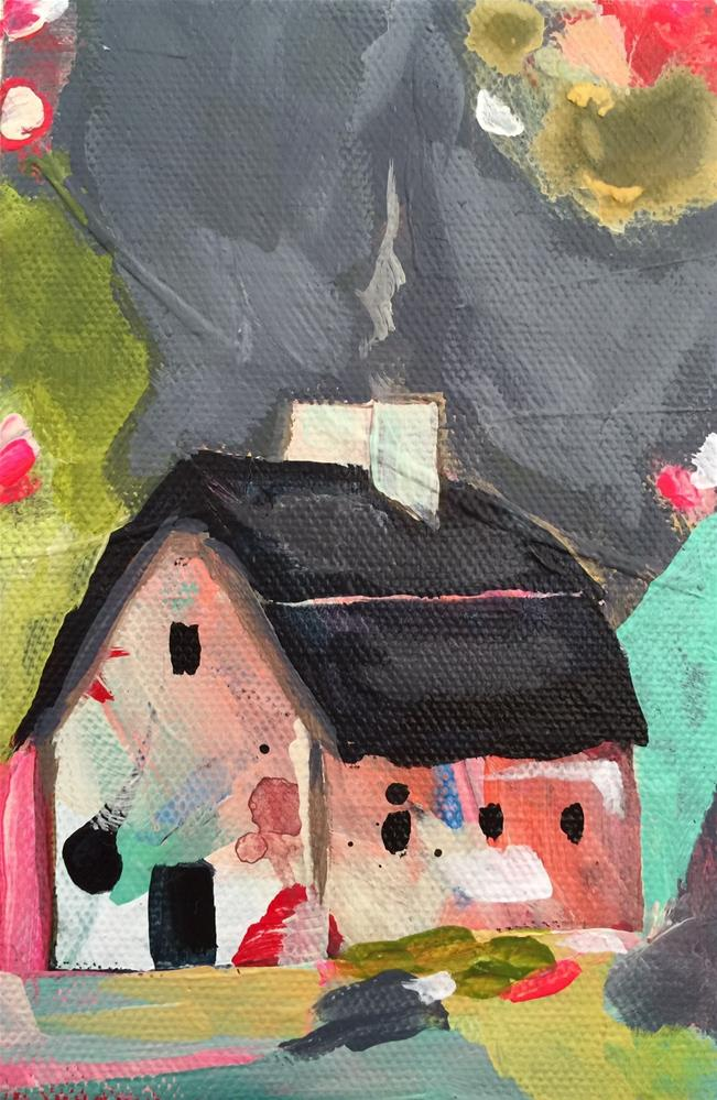 """65 Our House"" original fine art by Jenny Doh"
