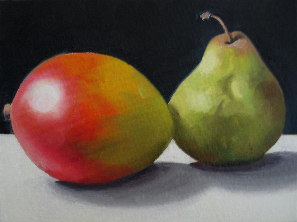 """Mango and Friend"" original fine art by Nel Jansen"
