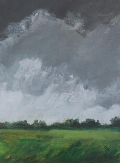 """""""Broken Sky"""" original fine art by Pamela Munger"""