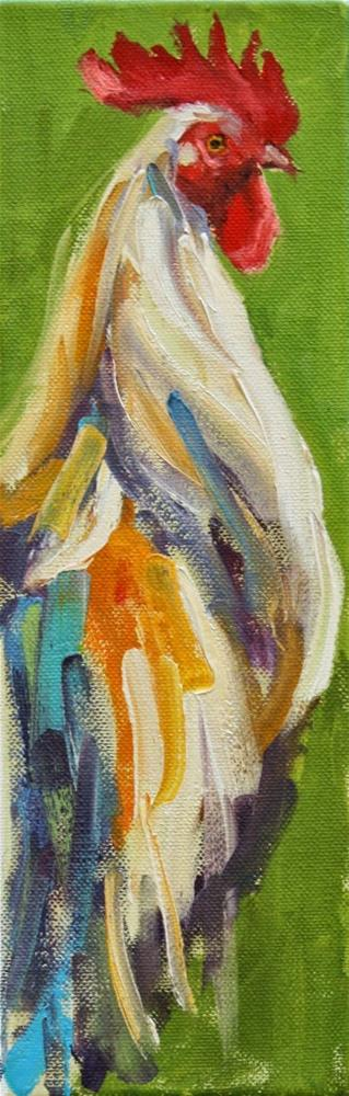 """narrow view"" original fine art by Carol Carmichael"