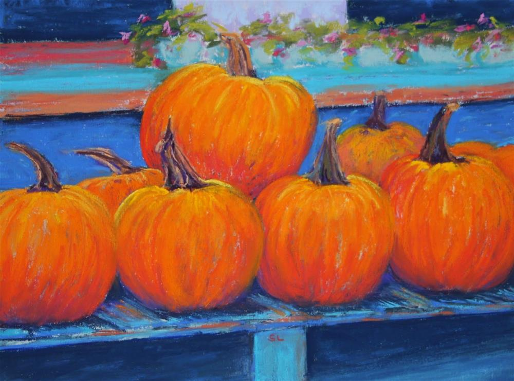 """Autumn Bounty"" original fine art by Sharon Lewis"