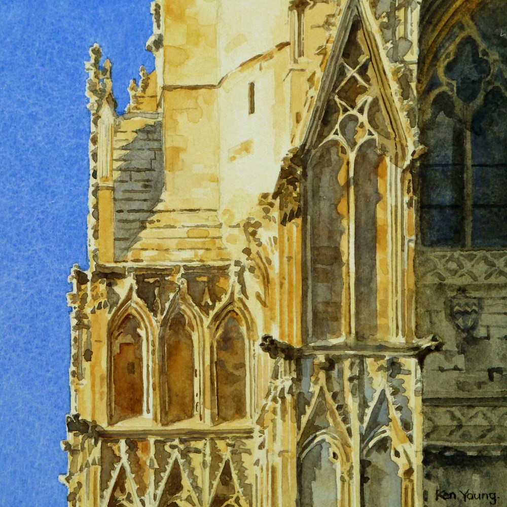 """""""Pointed Arches"""" original fine art by Ken Young"""