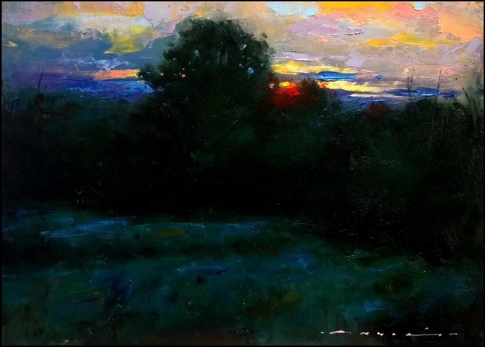 """""""Summer Morning"""" original fine art by Angel Angelov"""