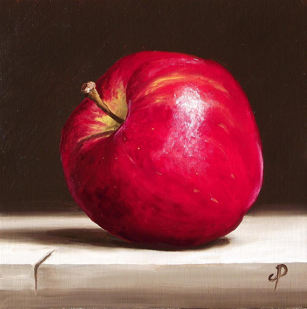 """Red Delicious #3"" original fine art by Jane Palmer"