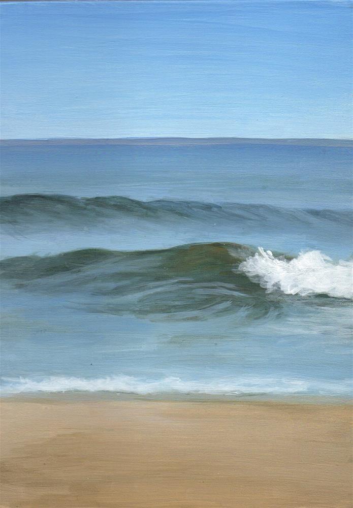 """""""Evolving"""" original fine art by Debbie Shirley"""