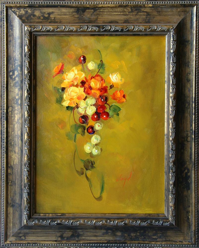 """Summer's Glow"" original fine art by Diane Lloyd"