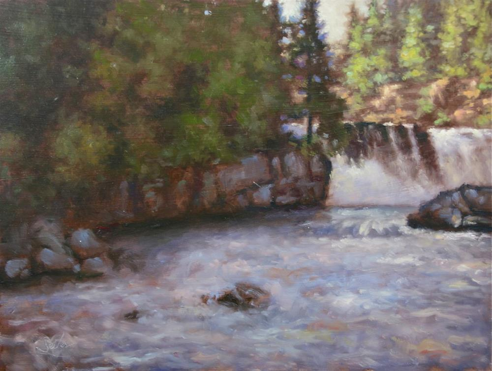 """Gooseberry Falls"" original fine art by Larry Seiler"