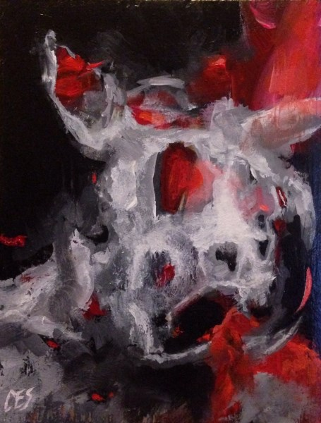 """Beast of Burden"" original fine art by ~ces~ Christine E. S. Code"