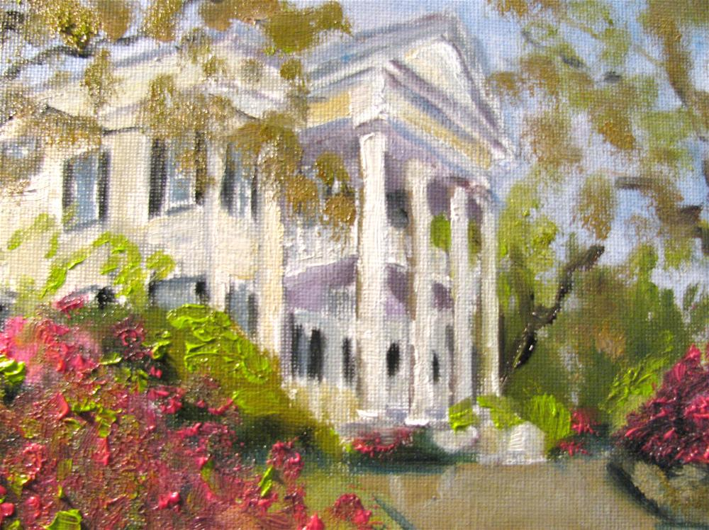 """Stanton Hall"" original fine art by Susan Elizabeth Jones"