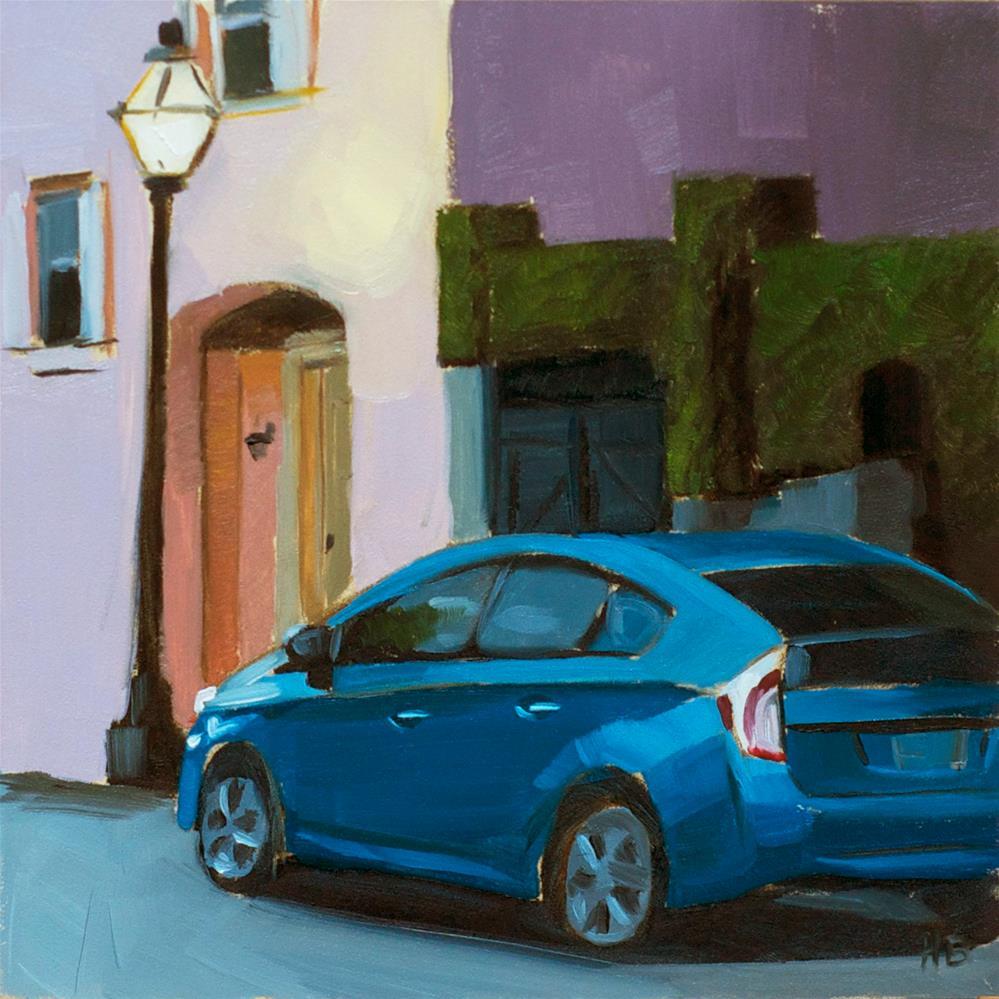 """Atlantic Street, 6am"" original fine art by Heather Bullach"