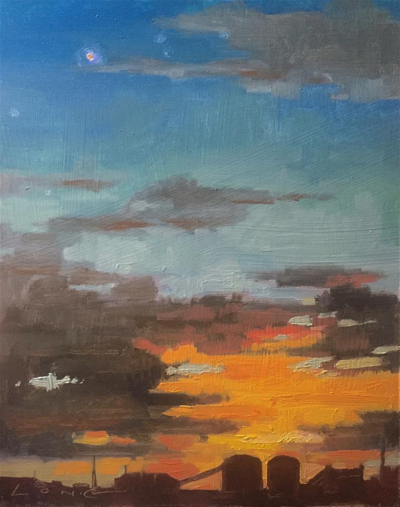 """Mars"" original fine art by Chris Long"