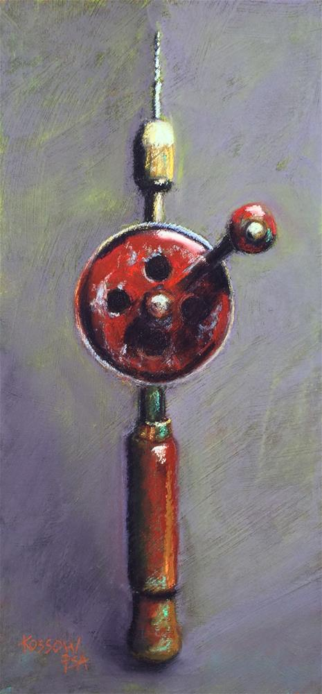 """Yankee Drill"" original fine art by Cristine Kossow"