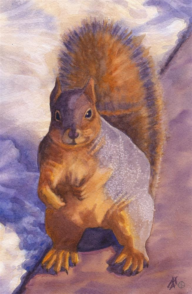 """Got Peanuts?"" original fine art by Mark Allison"