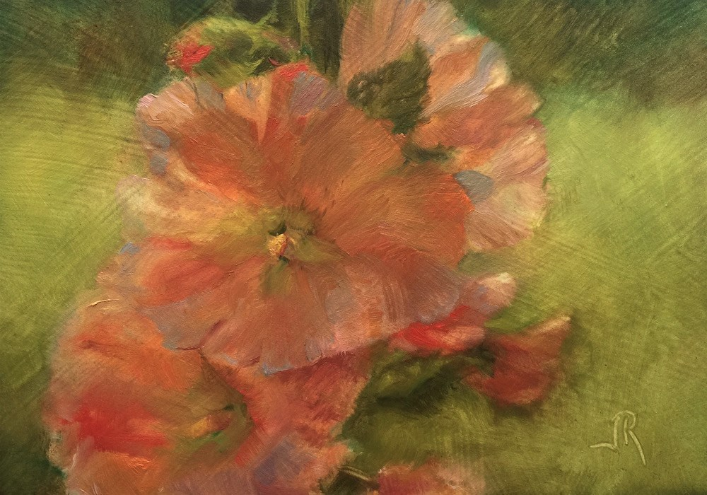 """Joy Is A Light"" original fine art by June Rollins"