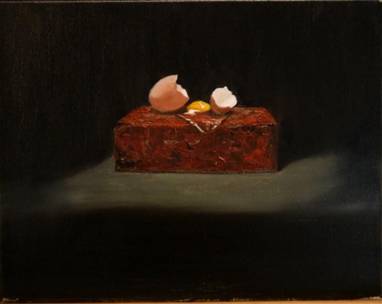 """Broken Up"" original fine art by Mary Datum"