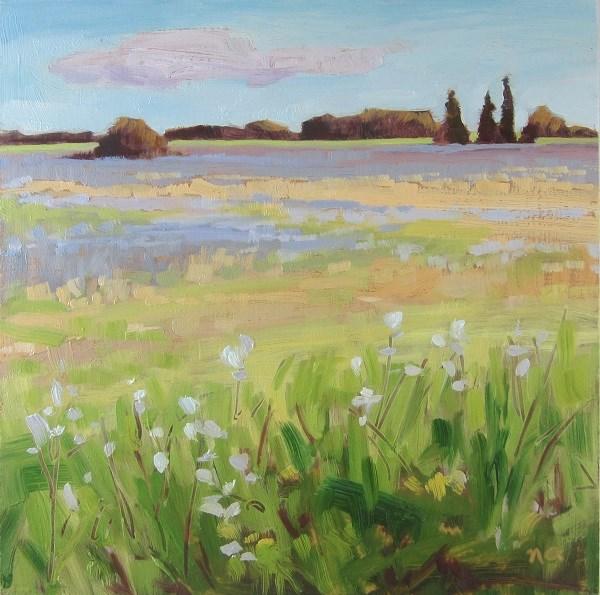 """Tiny Prairie"" original fine art by Nicki Ault"