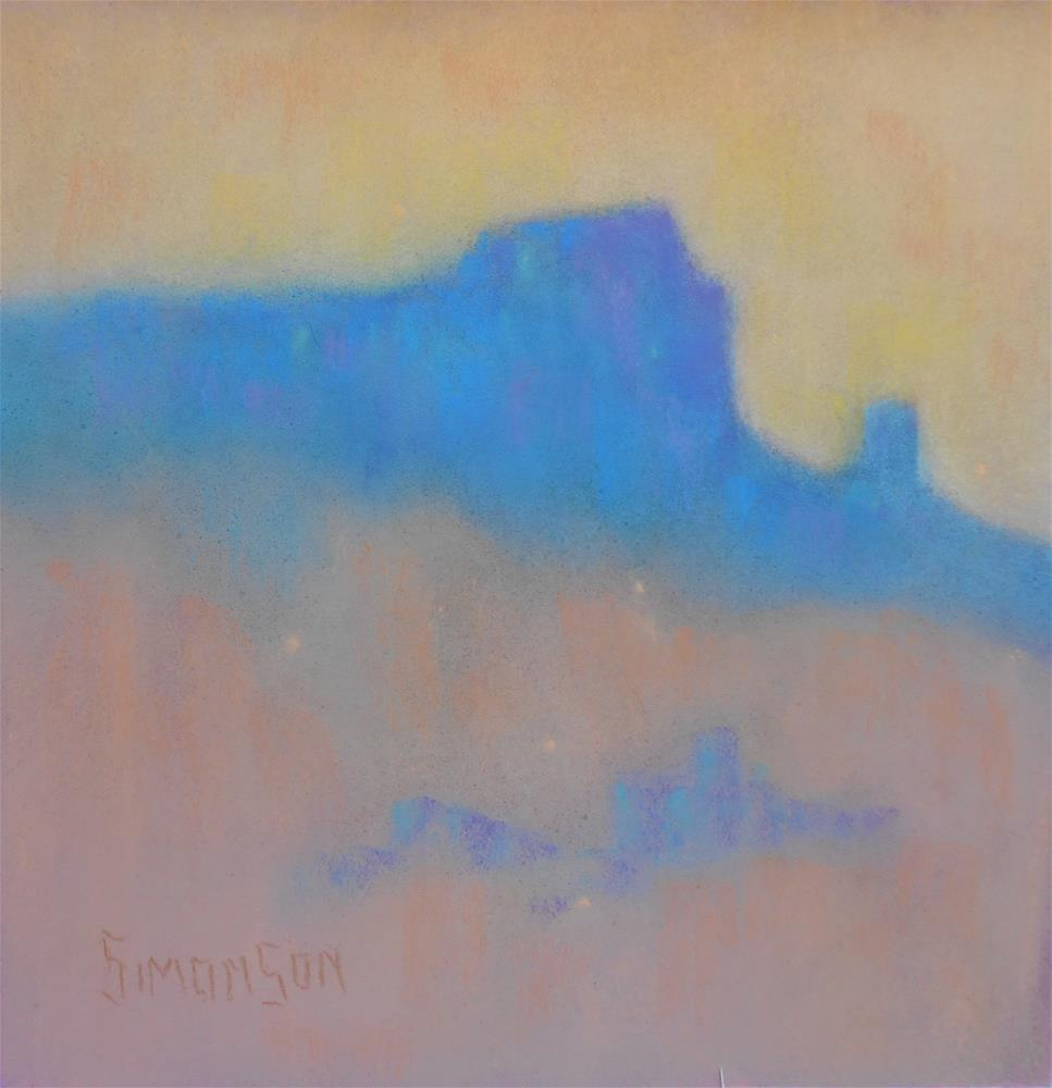 """At Oso Vista"" original fine art by Bev Simonson"