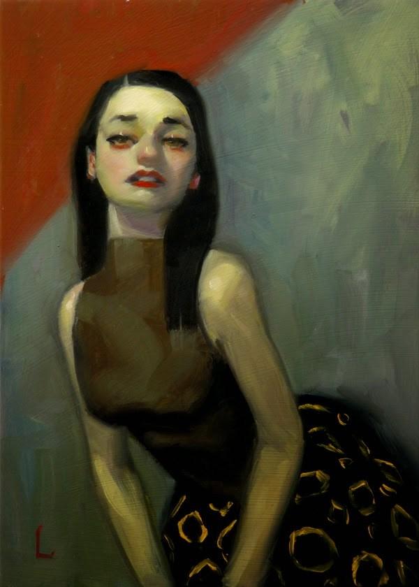 """""""Gold Rings"""" original fine art by John Larriva"""