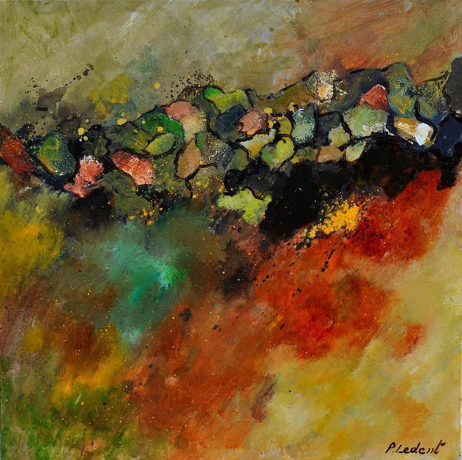 """abstract 6611604"" original fine art by Pol Ledent"