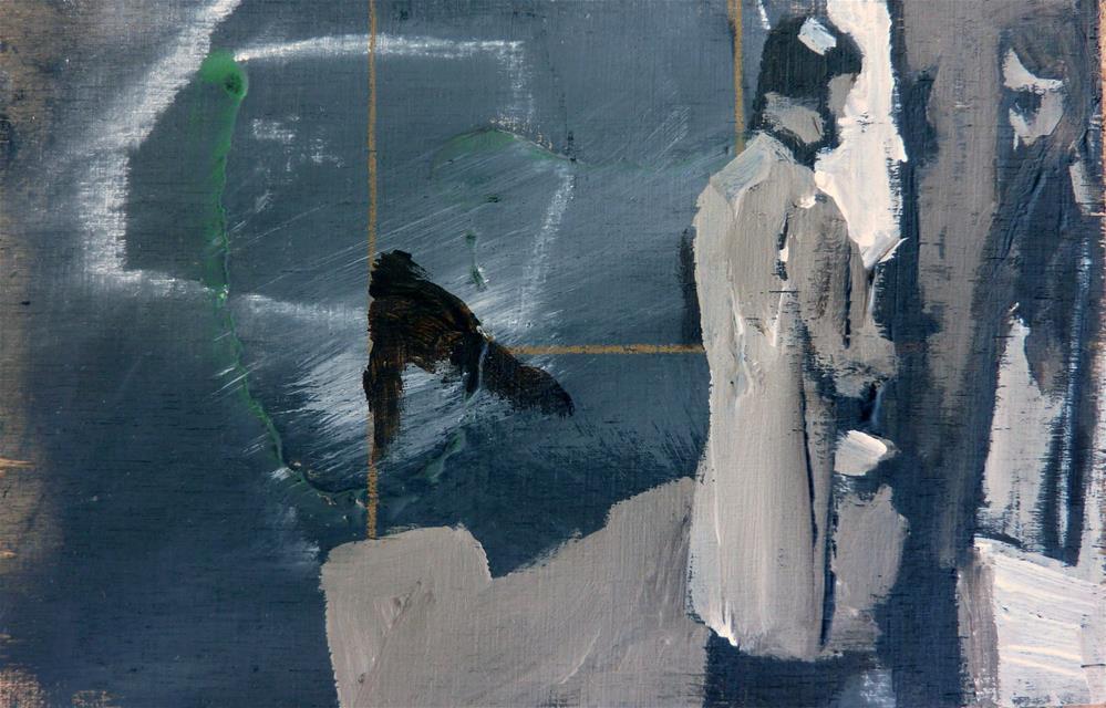 """""""Spiegelblick / mirror view"""" original fine art by Mila Plaickner"""