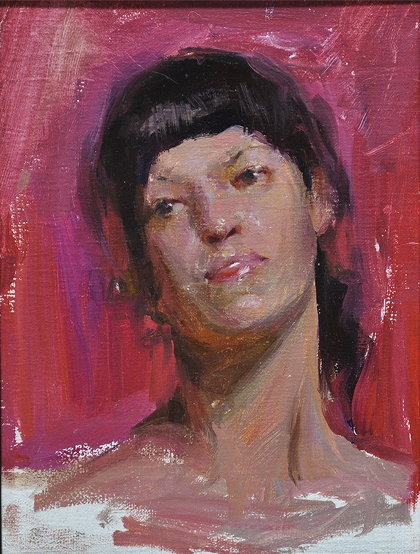 """portrait"" original fine art by Taisia Kuklina"