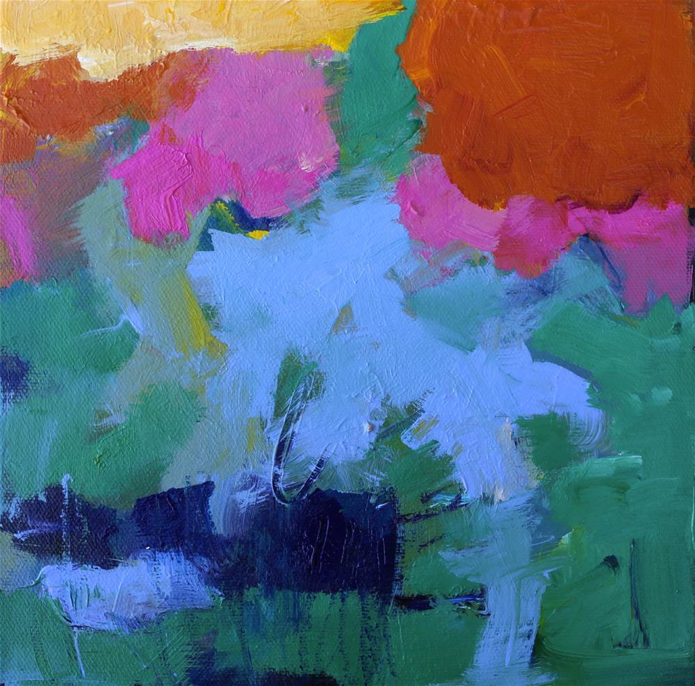 """""""Sweet Release"""" original fine art by Elizabeth Chapman"""