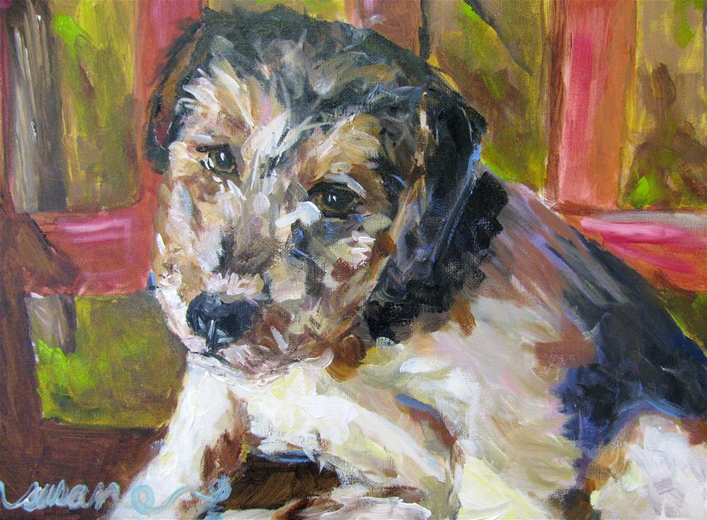 """Roddy"" original fine art by Susan Elizabeth Jones"