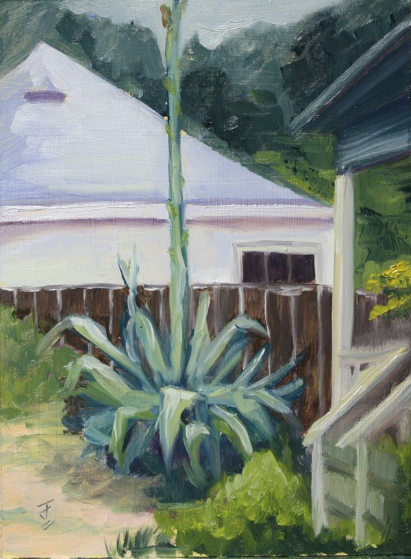 """Century Plant 2"" original fine art by Jane Frederick"
