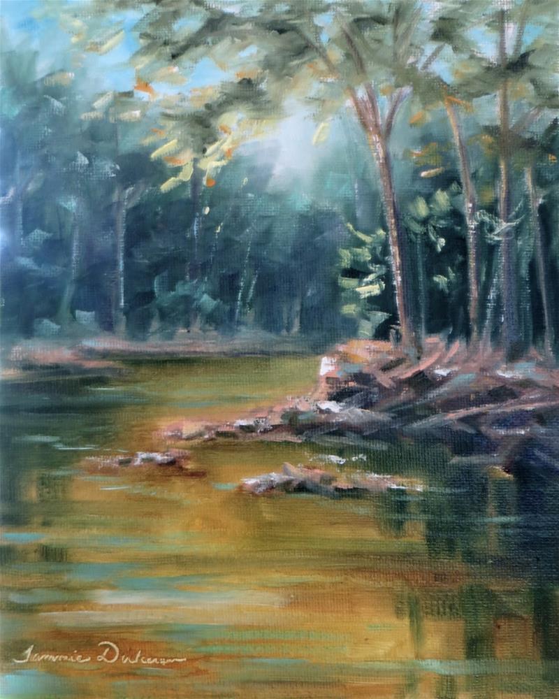 """Portage Gold"" original fine art by Tammie Dickerson"