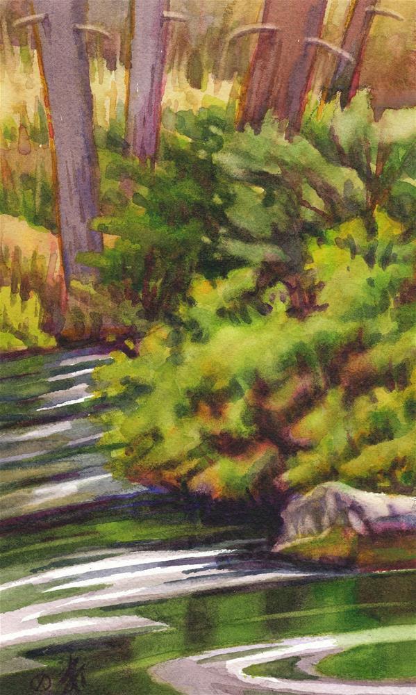 """Metolius River"" original fine art by Mark Allison"