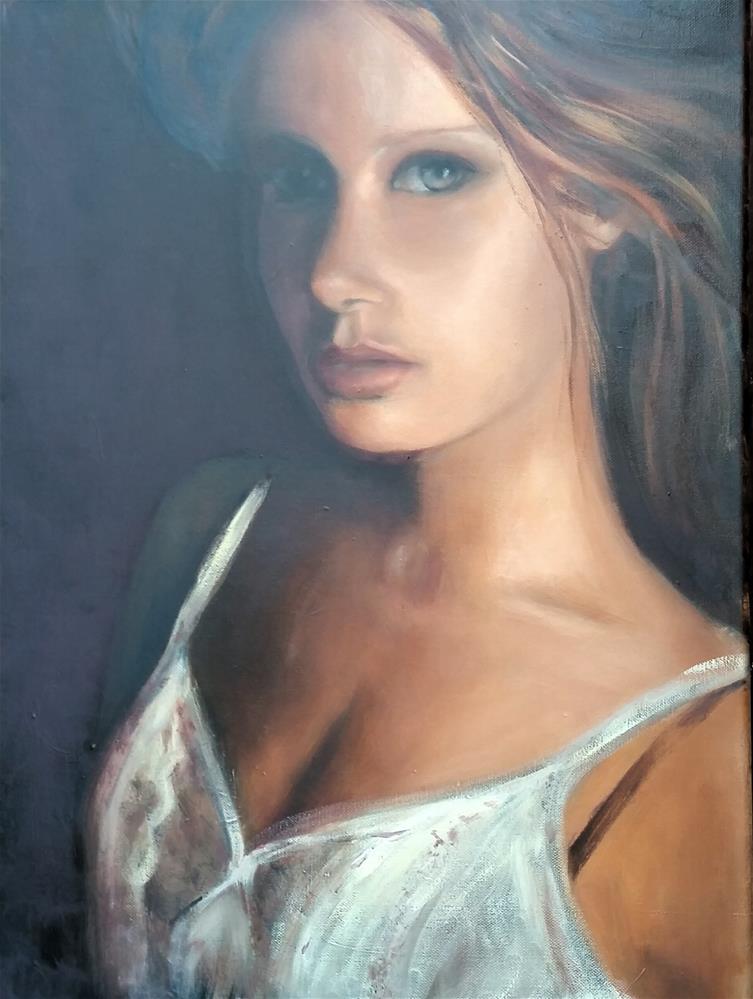 """Sensual Glow"" original fine art by Ronel Alberts"