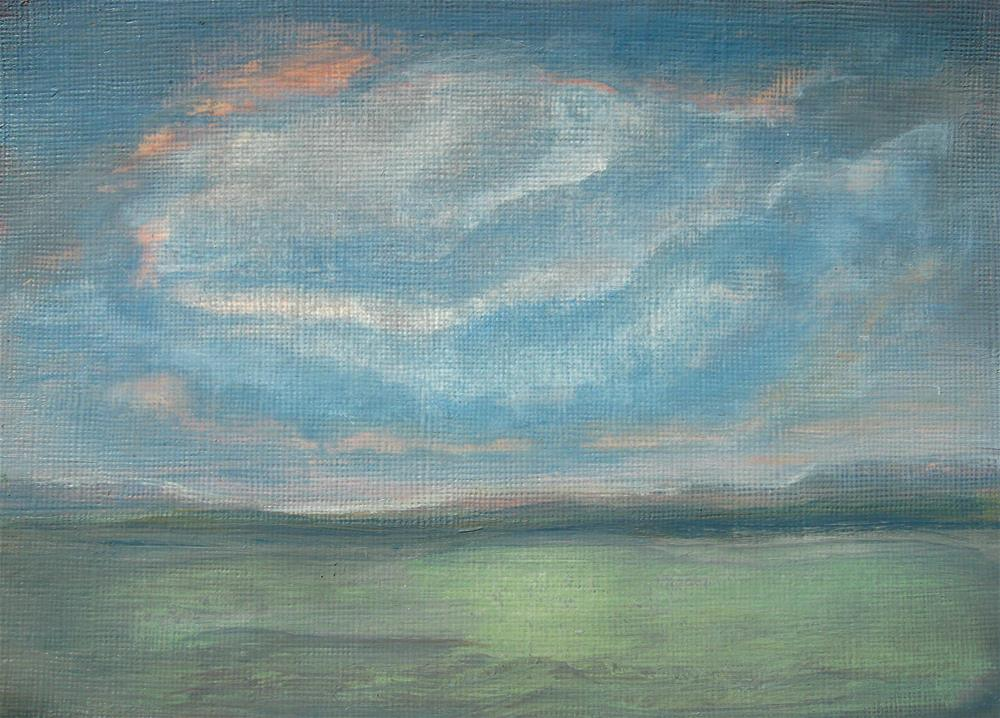 """Low Cloud"" original fine art by Alina Frent"