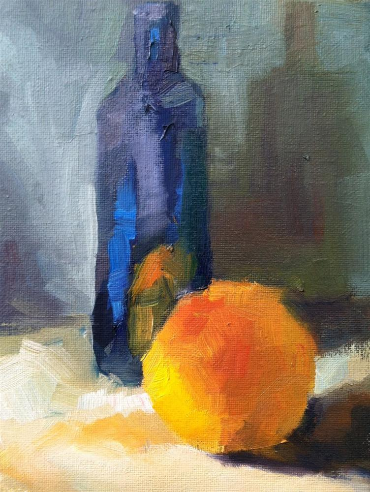 """Glowing Grapefruit"" original fine art by Michael Williamson"