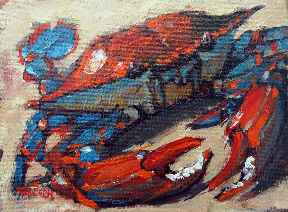 """Cancer Crab (SOLD)"" original fine art by Rick Nilson"
