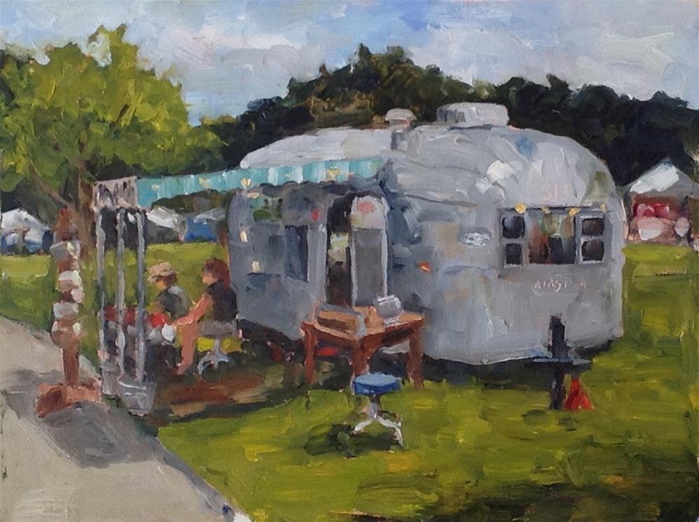 """Curbside513"" original fine art by Alice O'Leary"