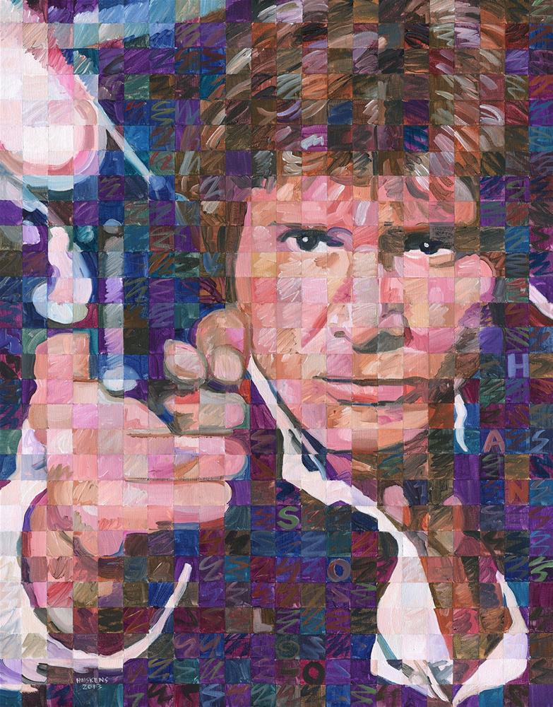 """""""Han Solo"""" original fine art by Randal Huiskens"""