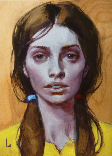 """Tricolor"" original fine art by John Larriva"