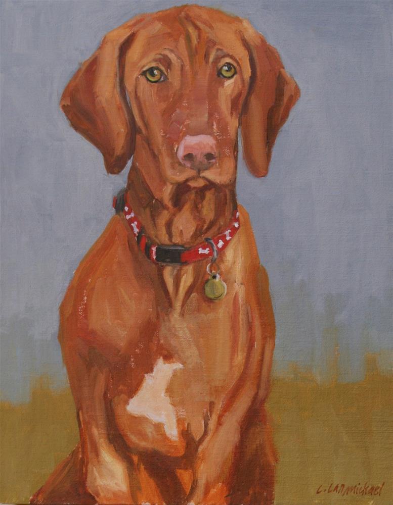 """sadie"" original fine art by Carol Carmichael"