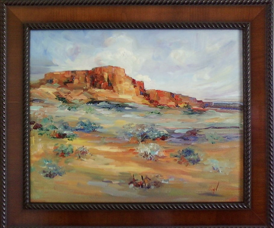 """Vermillion Cliffs"" original fine art by Diane Lloyd"