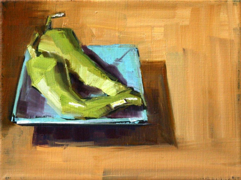 """cubanelle peppers"" original fine art by Carol Carmichael"