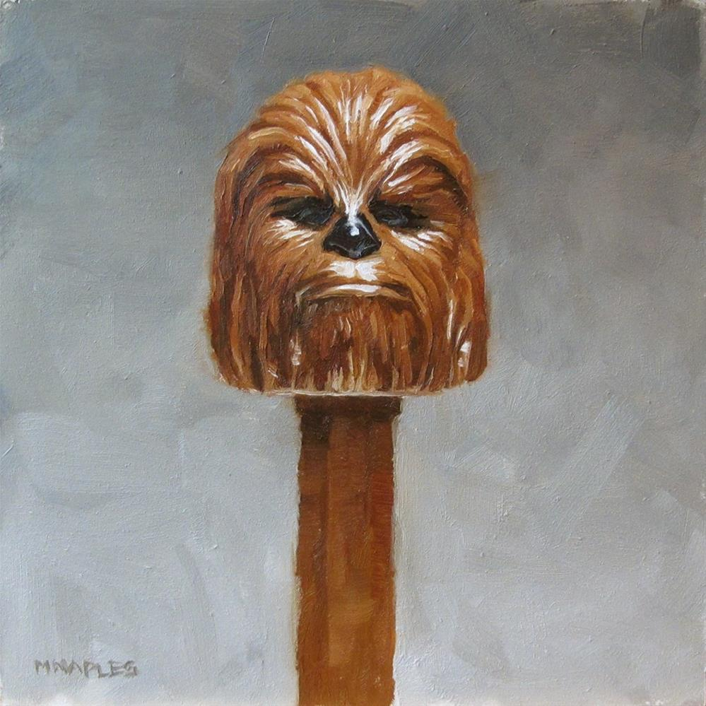 """Chewbacca Pez"" original fine art by Michael Naples"