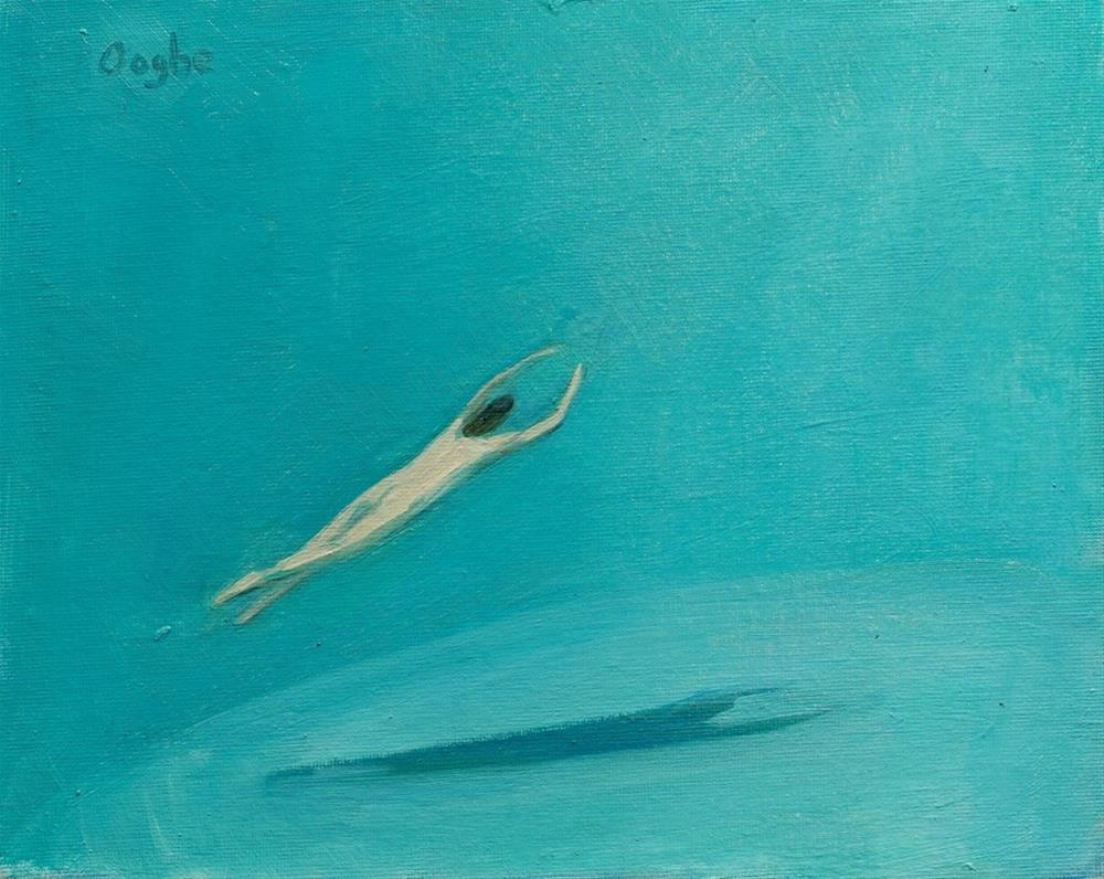 """Ascending"" original fine art by Angela Ooghe"
