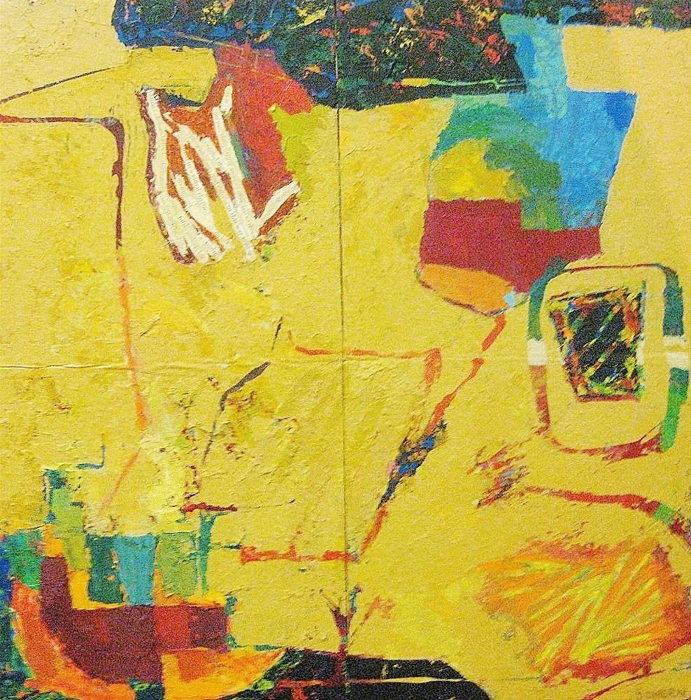 """""""Quadrant #2"""" original fine art by Priscilla Bohlen"""