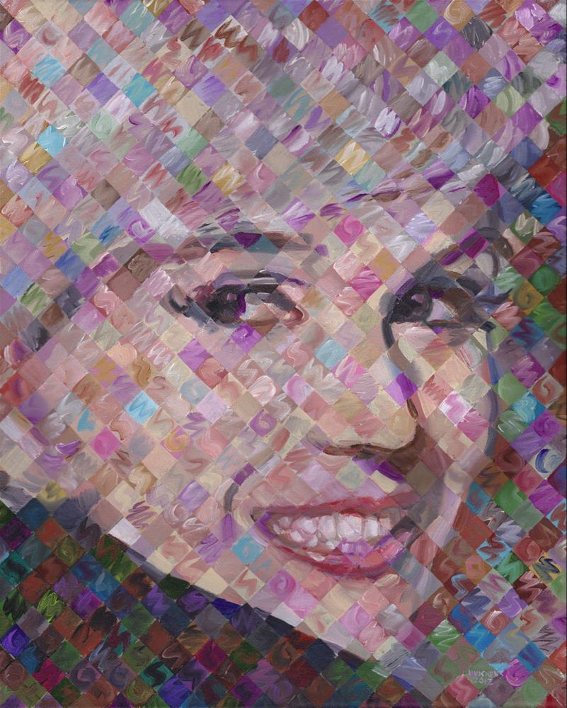 """Marilyn Monroe"" original fine art by Randal Huiskens"
