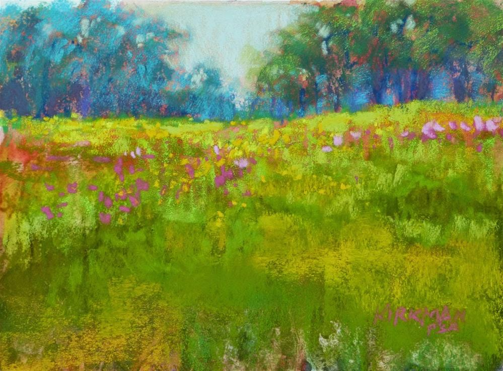 """Wildflower Field #33"" original fine art by Rita Kirkman"